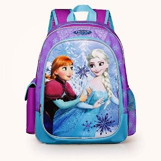 Tas Sekolah Anak Frozen
