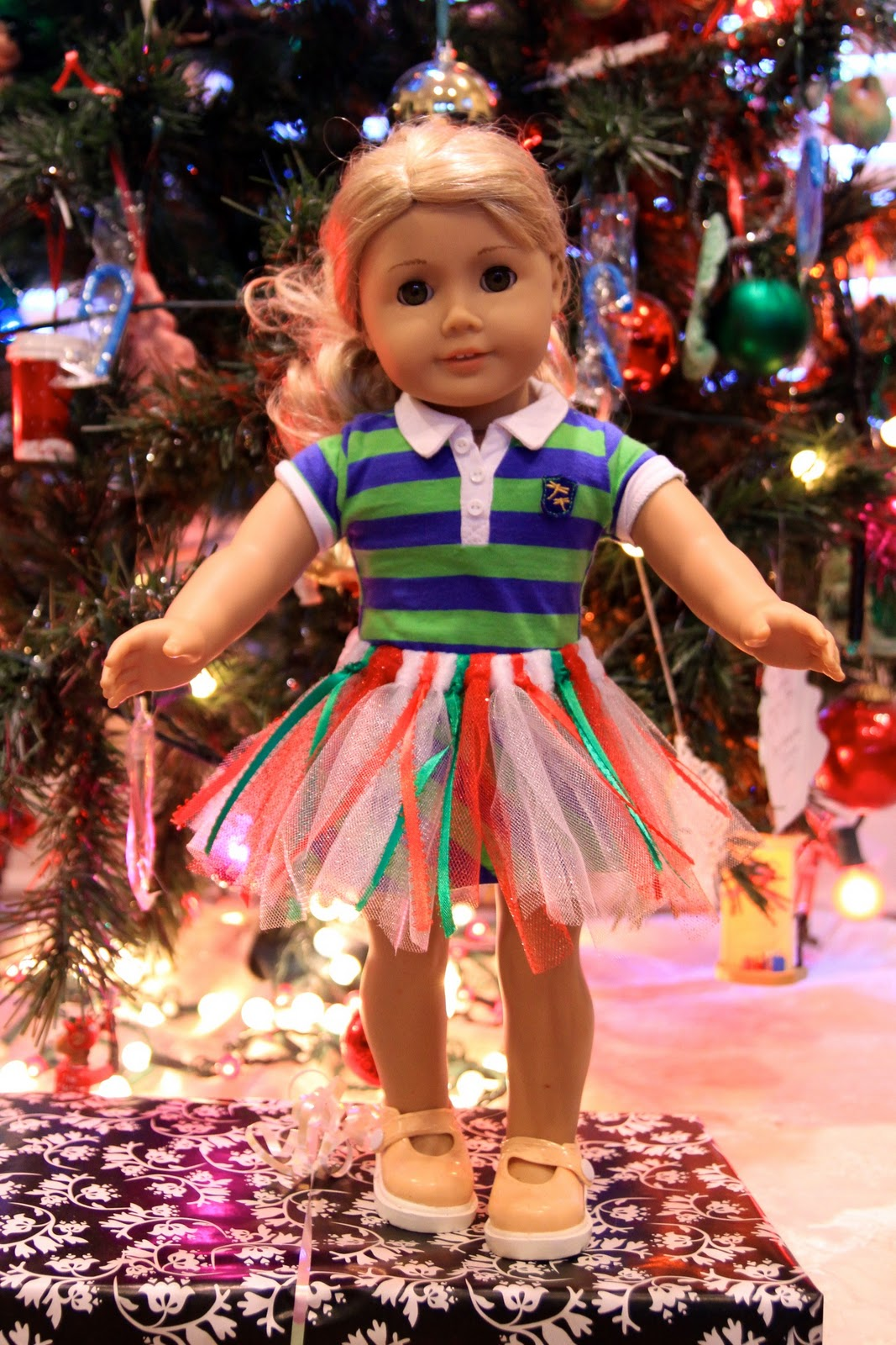 american girl doll tutu - Christmas Decorations For American Girl Dolls