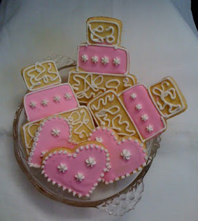 Galletas decoradas con glace real