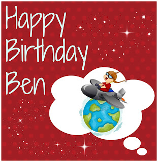 Happy Birthday Ben