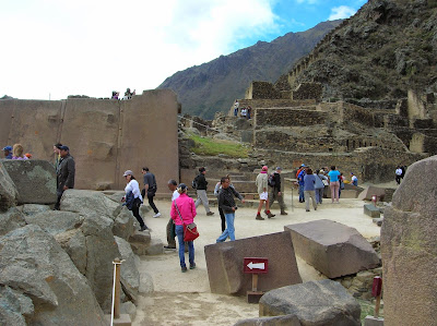 Templo del Sol, Ollantaytambo, Perú, La vuelta al mundo de Asun y Ricardo, round the world, mundoporlibre.com