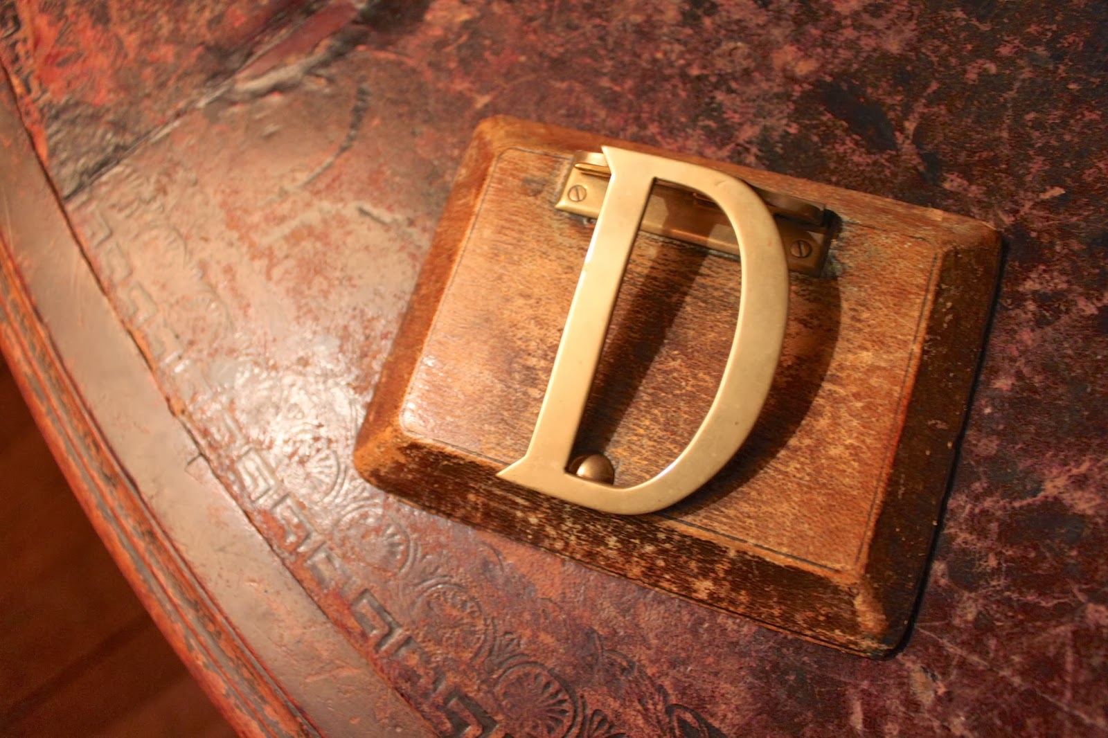 Castle Drogo, Julius Drewe, Letter Clip