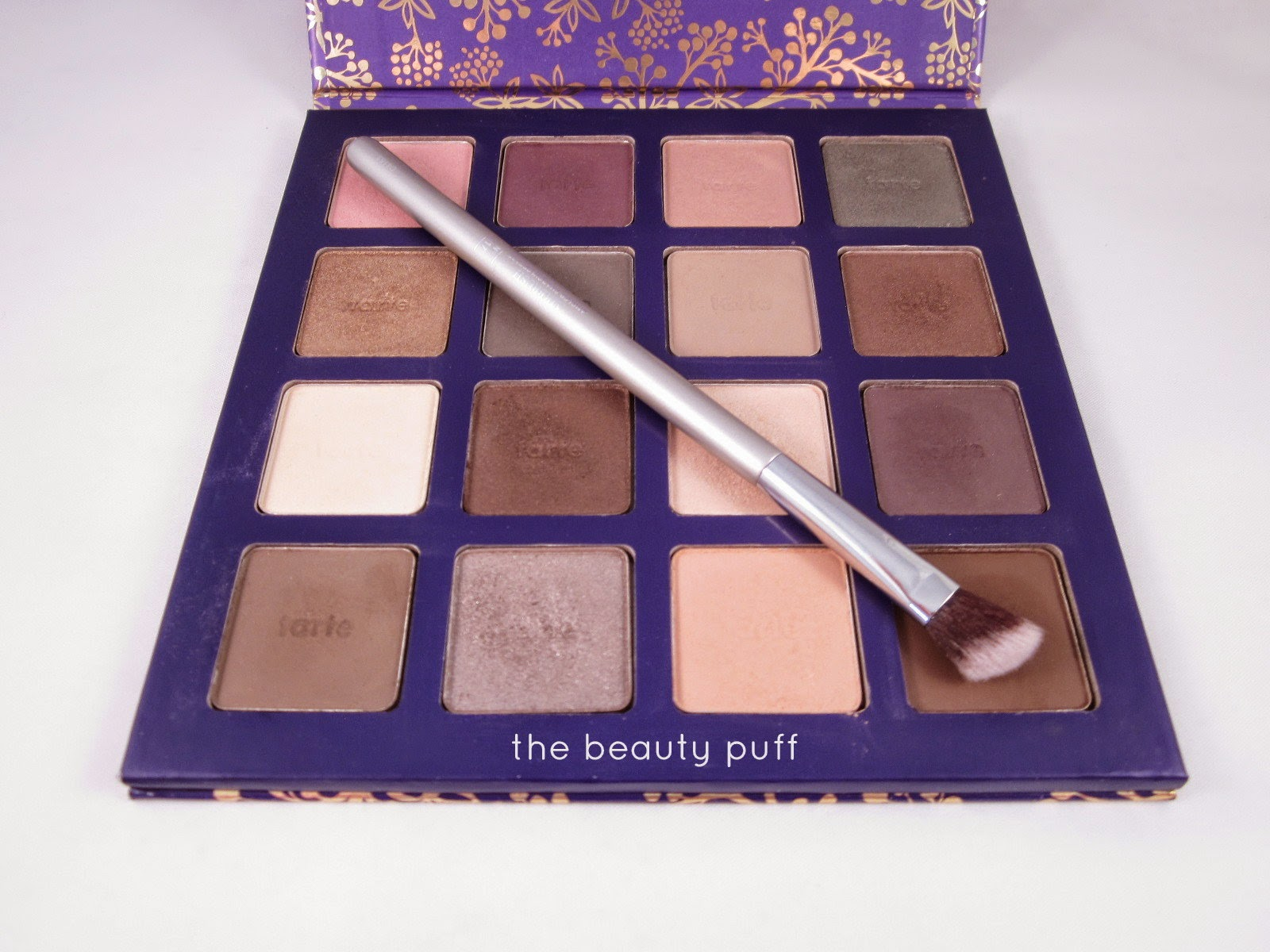 it brushes for ulta angled shadow crease brush tarte - the beauty puff