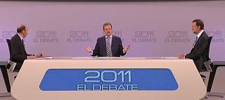 Debate Rajoy-Rubalcaba elecciones 2011 Manuel Campo Vidal