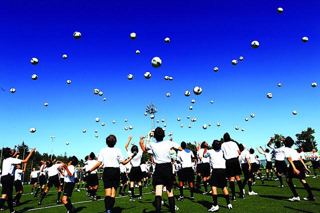 νεαροί ποδοσφαιριστές ακαδημιών