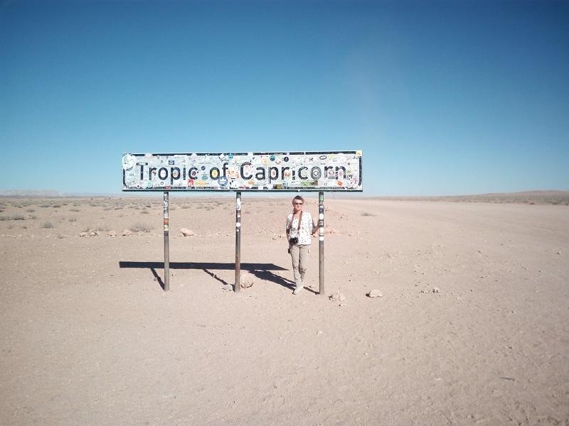 TROPICO DE CAPRICORNIO NAMIBIA