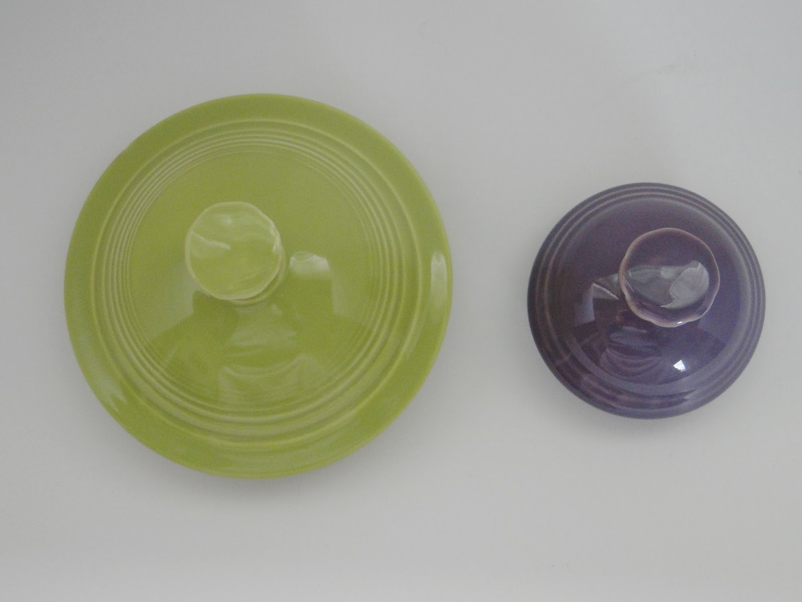 Dishing with hlcca vintage vs p86 fiesta vases teapots vintage chartreuse vs p86 lilac nvjuhfo Choice Image