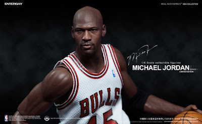 Enterbay 1/6 Scale Michael Jordan Figure
