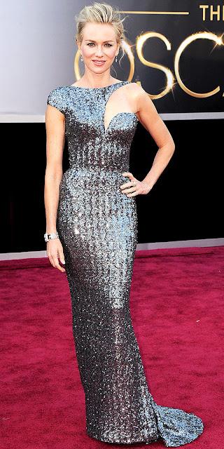 Naomi Watts Oscars gown, Armani Prive