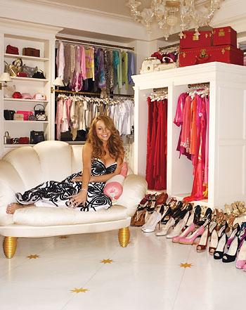 Mariah Carey dressing room Apartment Design
