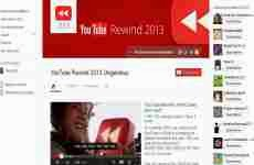 Los 10 videos más vistos de YouTube en 2013: YouTube Rewind 2013