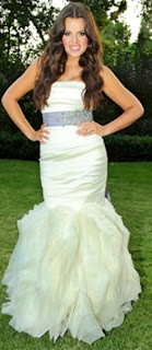 Christine Quinn and Khloe Kardashian almost wore same wedding dress 'I was devastated because that was my dress!' says mayoral hopeful