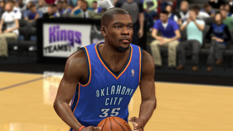 Realistic KD Cyberface NBA2K Patch