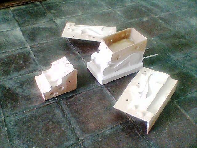 Moldes para balaustres o prefabricados de hormigon - Moldes piedra artificial ...