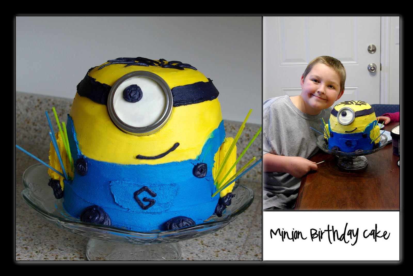 Nans Recipe Spot Minion Birthday Cake