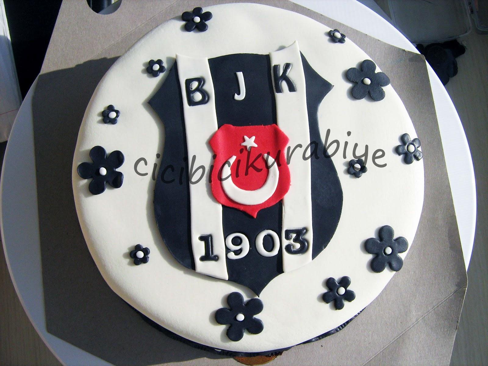 Şeker Hamurlu Beşiktaşk Pastası Videosu