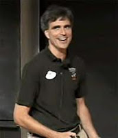 This is a picture of Randy Pausch.