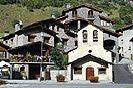 4 Fotografías de la iglesia de Sant Romà de Erts, Andorra