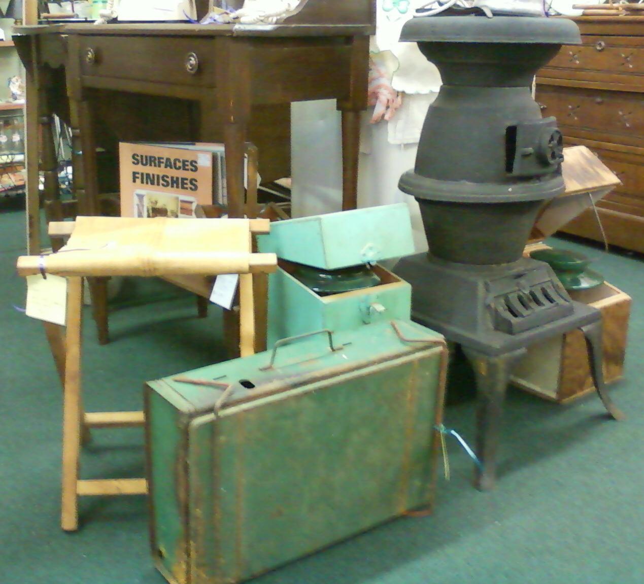 Vintage Camping Equipment Etc