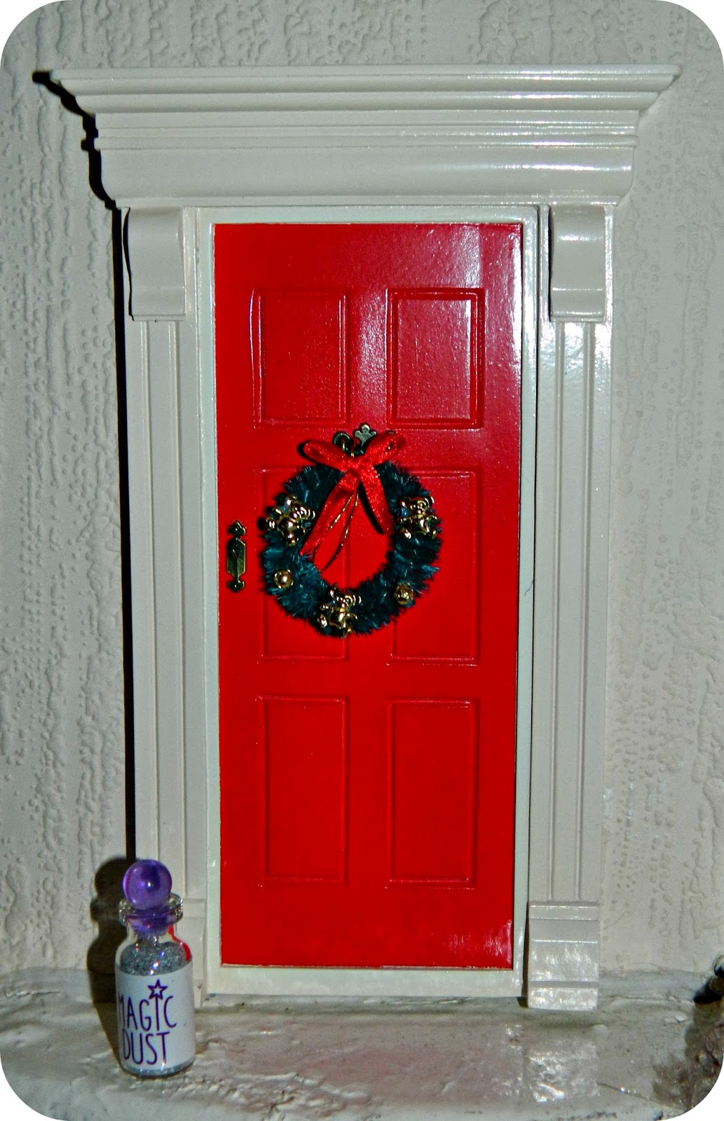 The magic elf door a review red rose mummy for The magic elf door