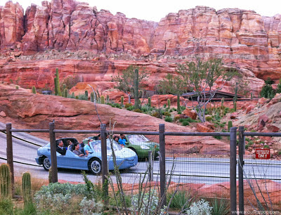 Radiator Springs Racers Cars Land Carsland Disney DCA
