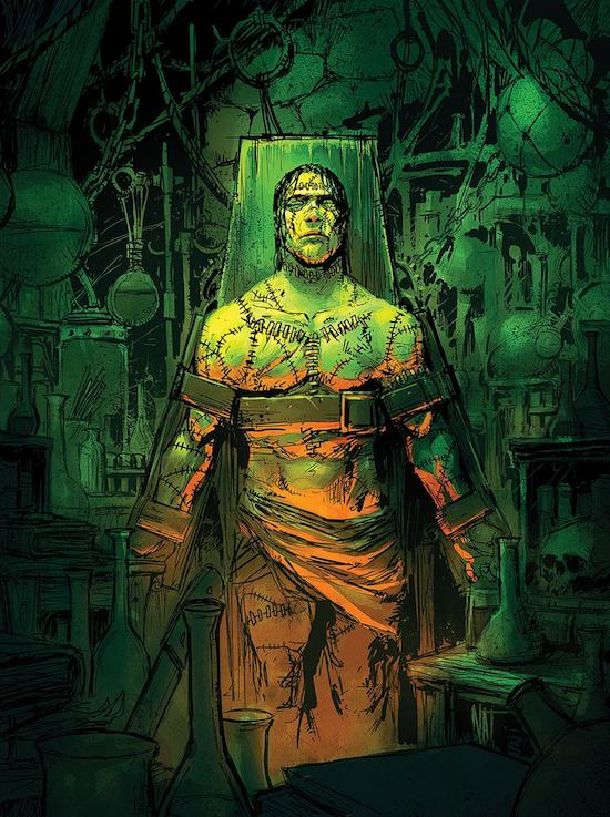 an analysis of the creation of frankenstein Mary shelley's frankenstein examines the pursuit of knowledge within the industrial age the creation of frankenstein's monster is presented as an unsurpassed feat of scientific discovery i agree with your analysis of the novel.