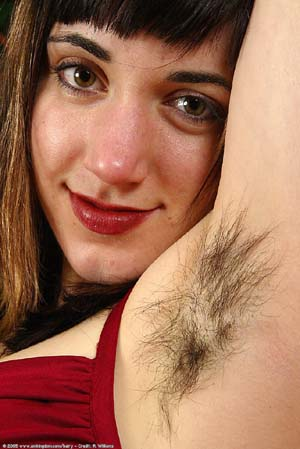 hairy woman 