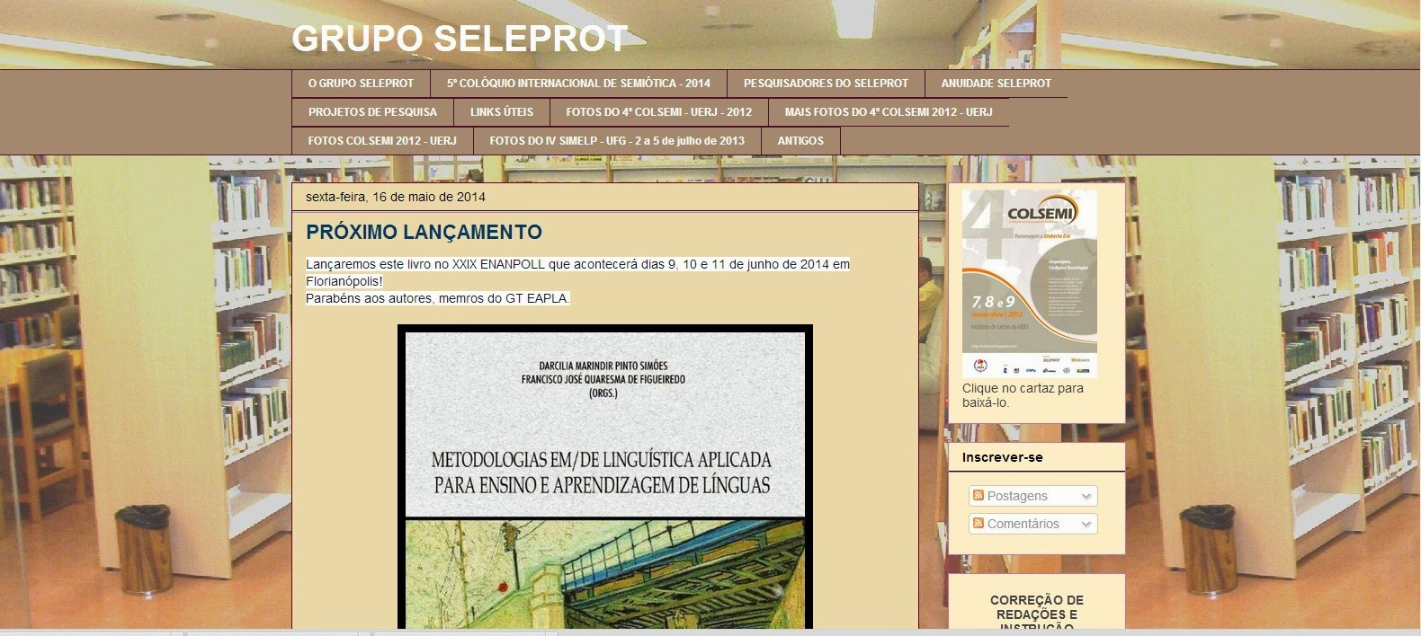 Blog do Grupo SELEPROT