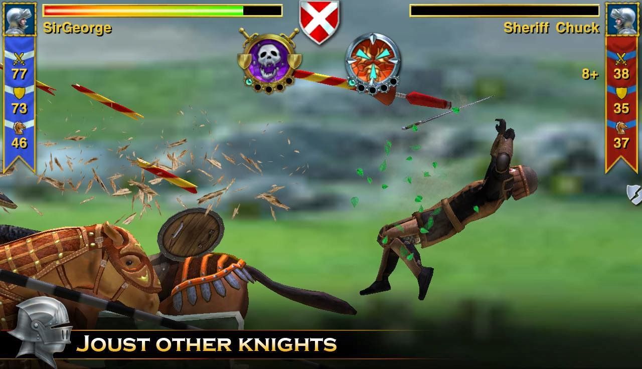 Knight Storm Mod Apk with data download