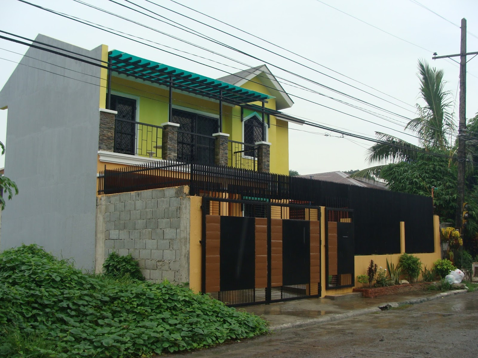 Simple 2 story house plans and design in the philippines for Up and down house design in the philippines