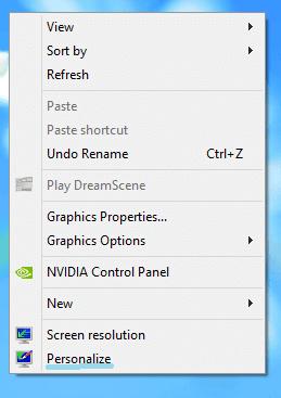 Cách hiển thị My Computer ra desktop trong Windows 8