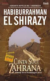 beli buku online cinta suci zahrana habiburrahman el shirazy rumah buku iqro beli buku murah