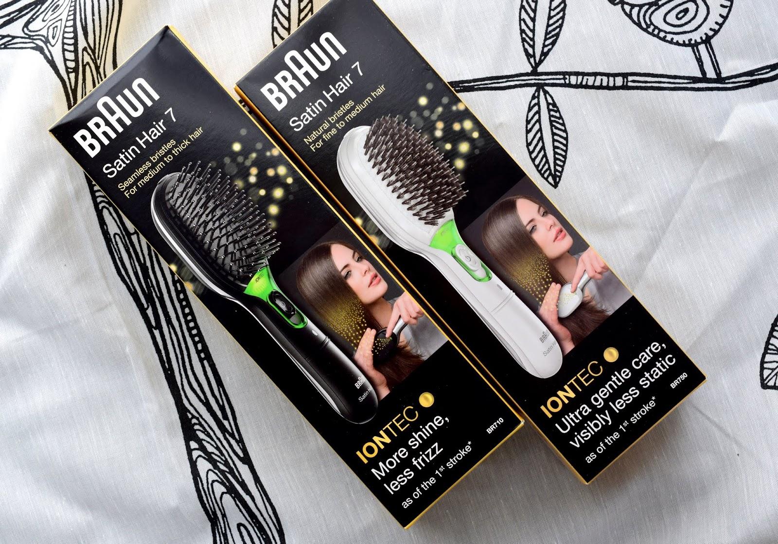 Braun Satin Hair 7 Haarbürste IONTEC Technologie