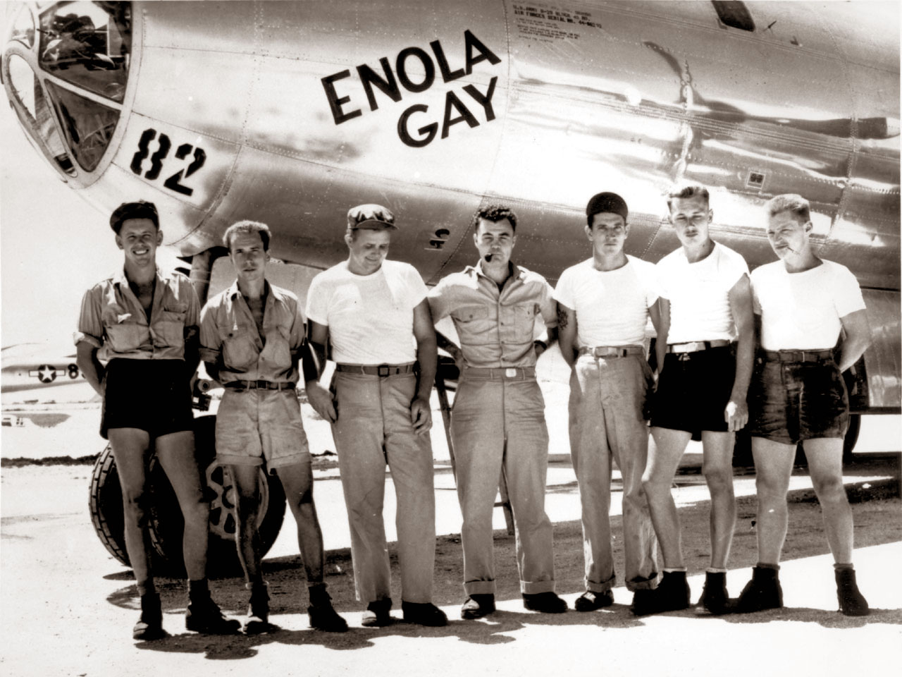 The Manhattan Project S Enola Gay Hangar 45