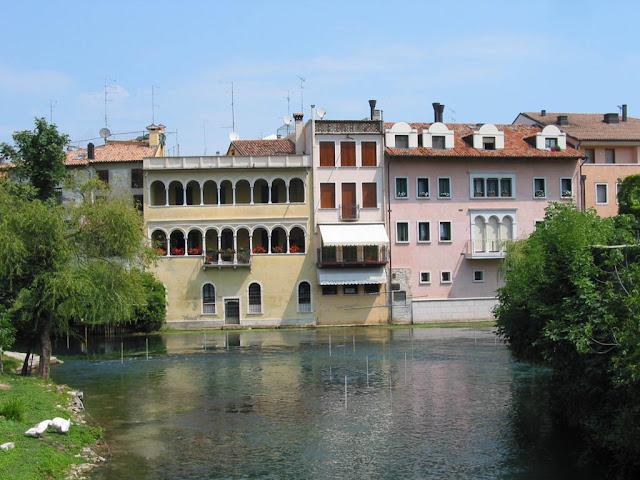 Sacile - il fiume Livenza