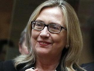 hillary  clinton no make up 
