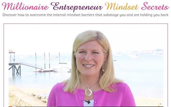 Free Livestream Millionaire Entrepreneur Mindset Secrets with Fabienne