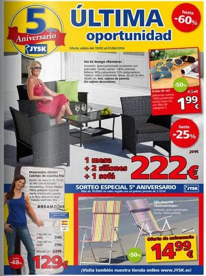 catalogo jysk rebajas de mayo 2014