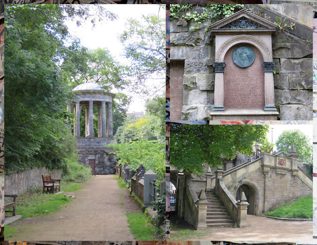 The Water of Leith in Edinburgh - St. Bernard's Well