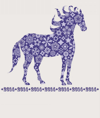Horses Christmas 2014