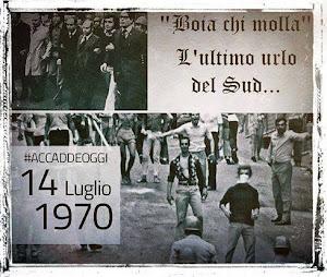 REGGIO CALABRIA 14 LUGLIO 1970