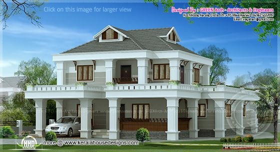 2450 sq-ft villa design