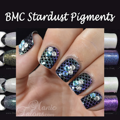 Bundle Monster BMC Stardust Pigment Collection Review