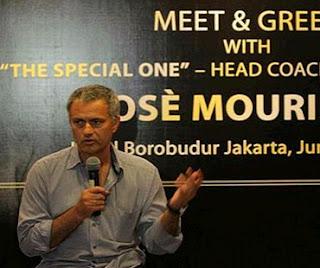 Jose Mourinho in Jakarta