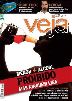 Revista Veja Menor + Alcool Julho 2012