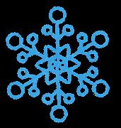 雪の結晶のイラスト2