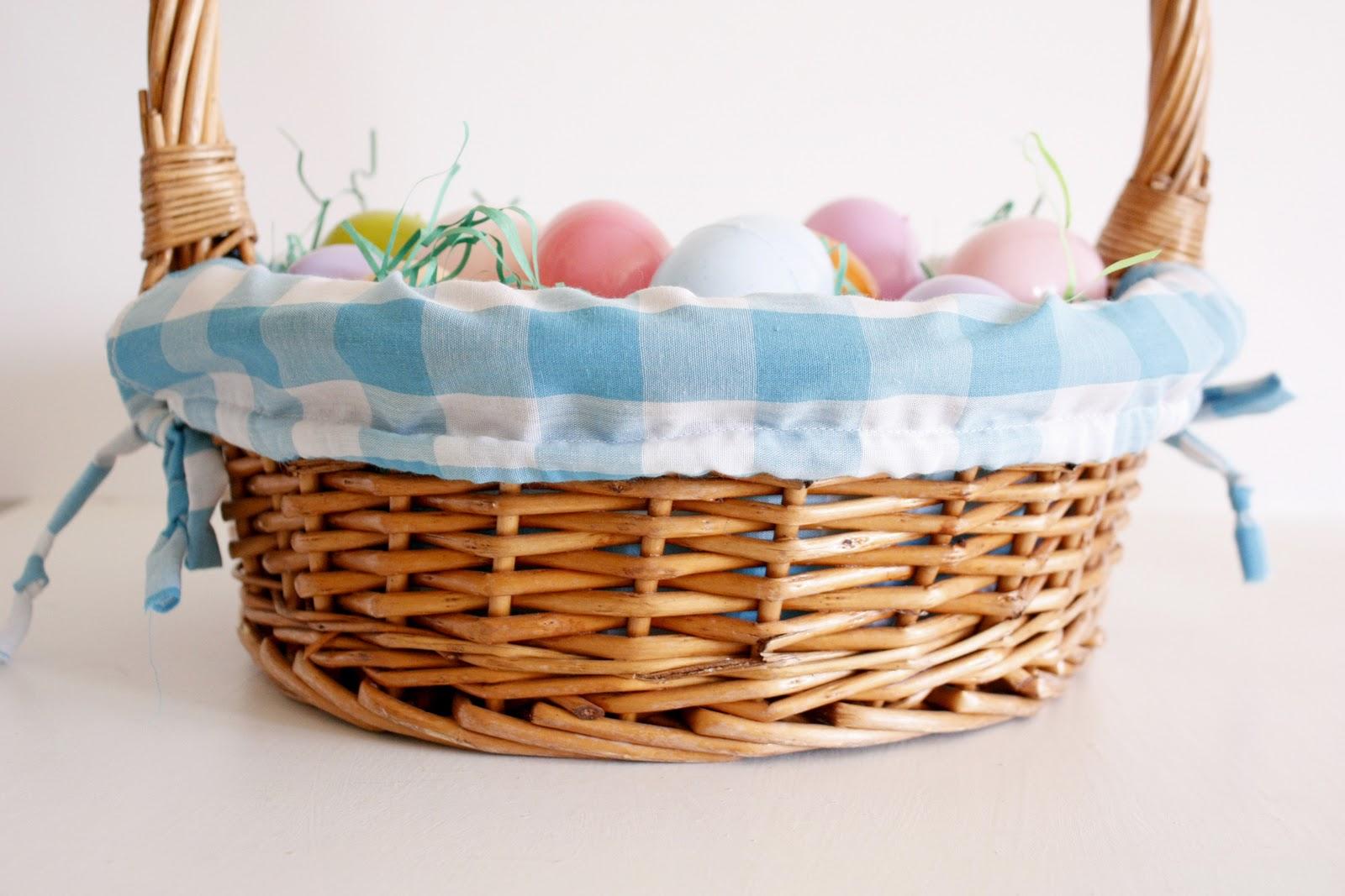 Easter basket liner tutorial negle Gallery
