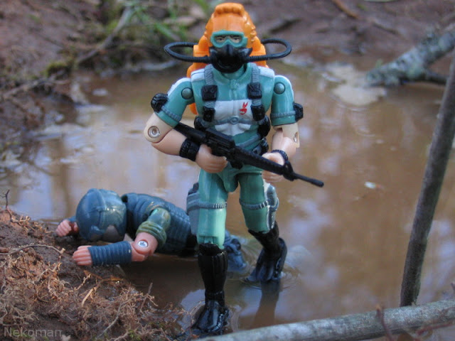 ARAH Vintage Version 1 one Viper 1986 Wetsuit GI Joe G.I.Joe