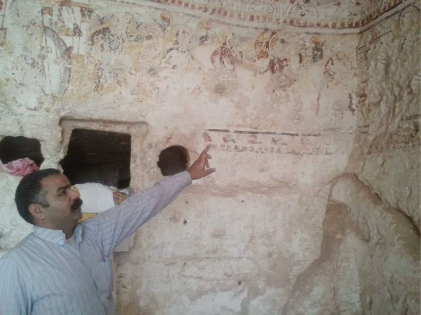 Coptic Christian history lost to thieves in Egypt