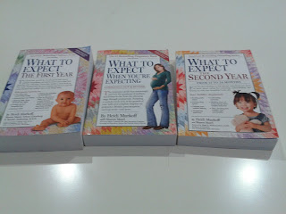 What To Expect Series of Pregnancy Books